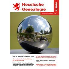 Hessische Genealogie 4/2020