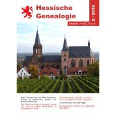 Hessische Genealogie 2/2018