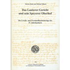 Das Lauterer Gericht und sein Speyerer Oberhof