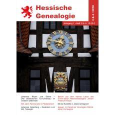 Hessische Genealogie 3&4/2018