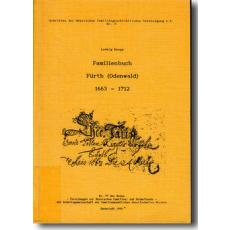 Familienbuch Fürth (Odenwald) 1663-1712