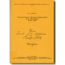 Familienbuch Wersau/Odenwald mit Bierbach 1640-1807