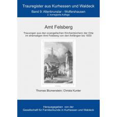 Amt Felsberg - Trauungen aus den Kirchenbüchern der Orte im ehemaligen Amtes Felsberg von den Anfängen bis 1830