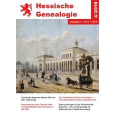 Hessische Genealogie (Jahrgang 2019)