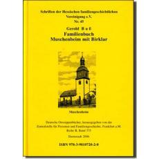 Familienbuch Muschenheim und Birklar 1641 - 1986