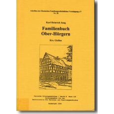 Familienbuch Ober-Hörgern Krs. Gießen
