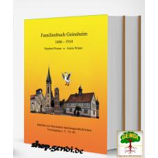 Familienbuch Geinsheim am Rhein 1686-1910