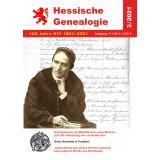 Hessische Genealogie 3/2021