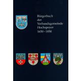 Bürgerbuch der Verbandsgemeinde Hochspeyer 1650 - 1850