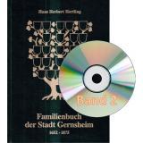 Familienbuch der Stadt Gernsheim, Band 1 + 2