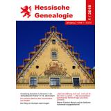 Hessische Genealogie 1/2019