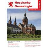 Hessische Genealogie (Jahrgang 2018)
