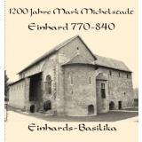 Stofftasche 1200 Jahre Mark Michelstadt und - Einhard 770-840