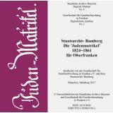 Staatsarchiv Bamberg - Die Judenmatrikel 1824-1861 für Oberfranken
