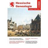 Hessische Genealogie 3/2020